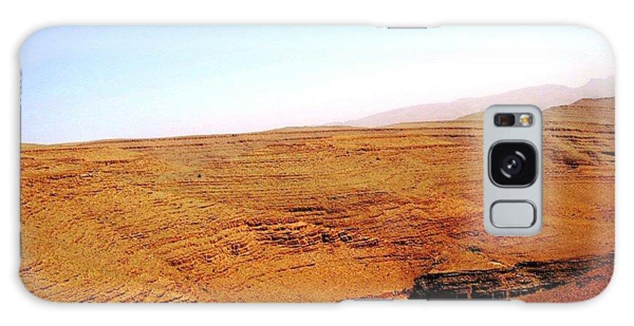 Morocco Galaxy S8 Case featuring the photograph God's Fingerprint 5 by Teresa Ruiz