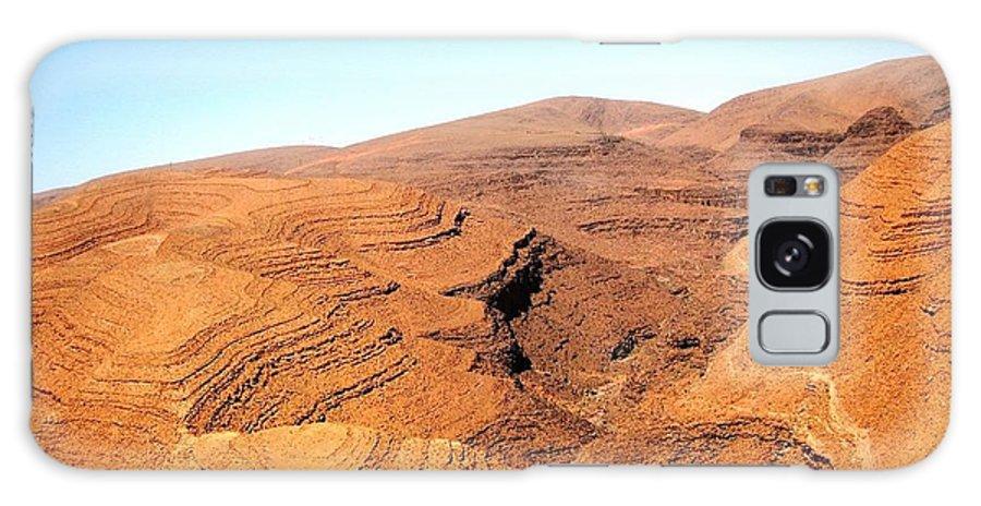 Morocco Galaxy S8 Case featuring the photograph God's Fingerprint 8 by Teresa Ruiz