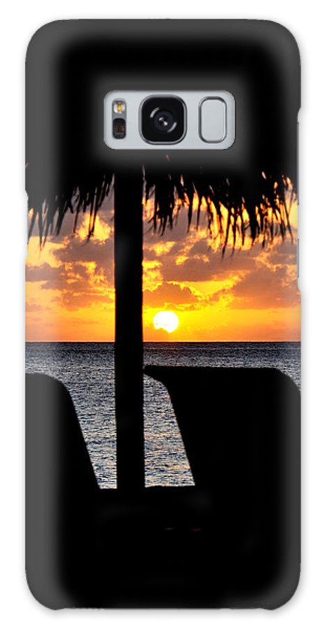 Sunsets Galaxy S8 Case featuring the photograph God's Gift by Caroline Stella