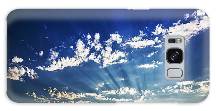 Gods Rays Galaxy S8 Case featuring the photograph Gods Rays by Vishwanath Bhat