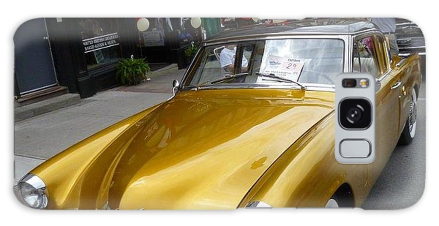 Car Galaxy S8 Case featuring the photograph Golden Car by Lingfai Leung