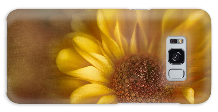 Flower Galaxy S8 Case featuring the photograph Golden Dahlia by David and Carol Kelly