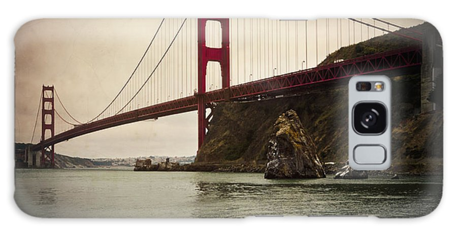 San Francisco Galaxy S8 Case featuring the photograph Golden Gate Bridge by Catherine Boutell