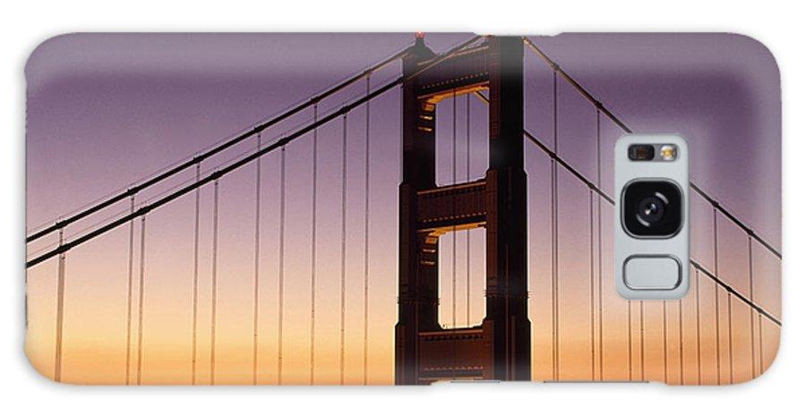 California Galaxy S8 Case featuring the photograph Golden Gate Bridge Sunrise From Marin by Joe Beynon