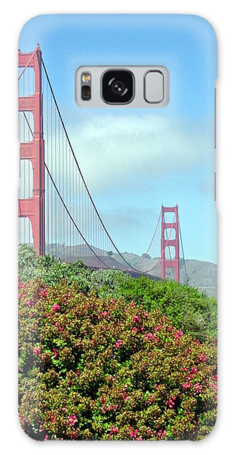 Golden Gate Bridge Galaxy Case featuring the photograph Golden Gate by Suzanne Gaff