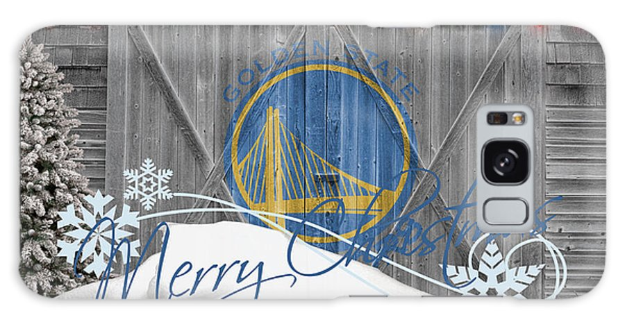 Warriors Galaxy S8 Case featuring the photograph Golden State Warriors by Joe Hamilton
