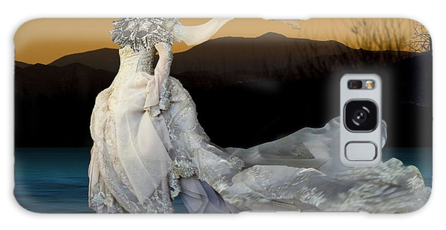 Models Galaxy S8 Case featuring the digital art Gone With The Wind by Angelika Drake