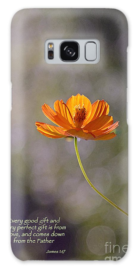 Flower Galaxy S8 Case featuring the photograph Good And Perfect Gifts by Linda Vodzak