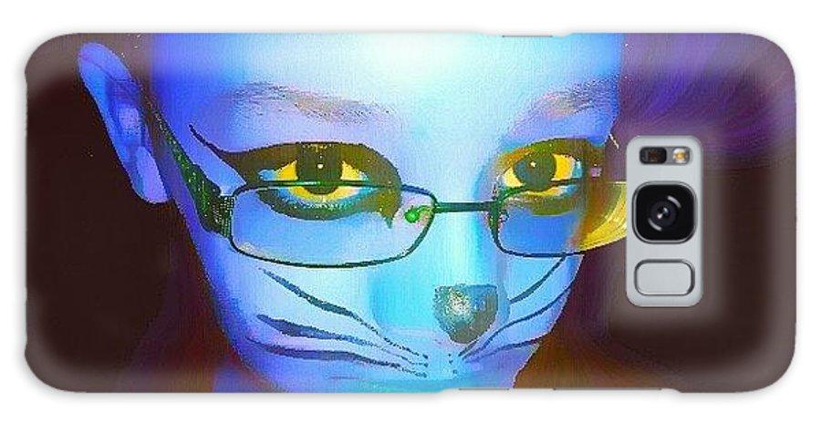 Galaxy S8 Case featuring the digital art Good Kittt by Evie Cotton