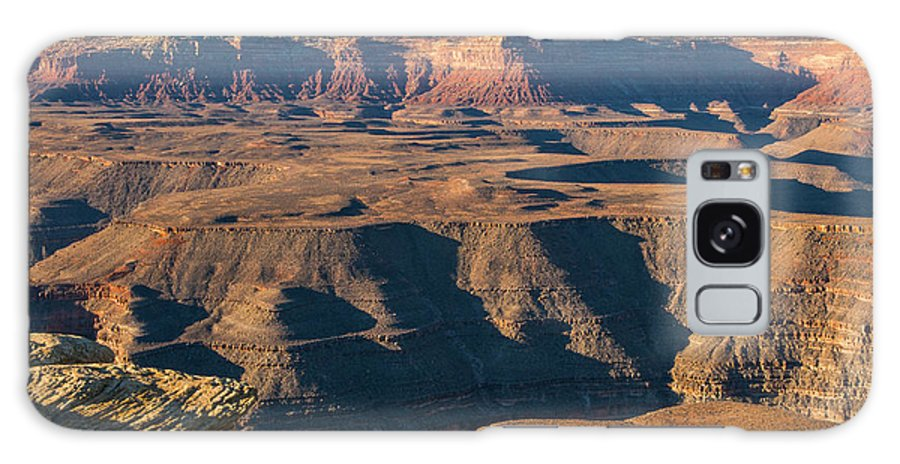Goosenecks State Park Utah Parks Canyon Canyons Red Rock Landscape Landscapes Galaxy S8 Case featuring the photograph Goosenecks State Park by Bob Phillips