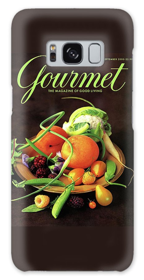 Food Galaxy S8 Case featuring the photograph Gourmet Cover Featuring A Variety Of Fruit by Romulo Yanes