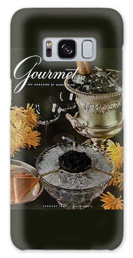 Food Galaxy S8 Case featuring the photograph Gourmet Cover Featuring A Wine Cooler by Arthur Palmer