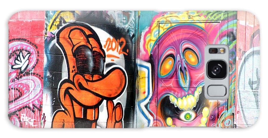 Graffiti Galaxy S8 Case featuring the photograph Graffiti 10 by Tera Bunney