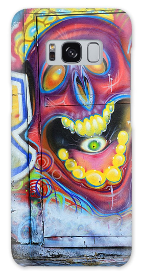 Graffiti Galaxy S8 Case featuring the photograph Graffiti 2 by Tera Bunney
