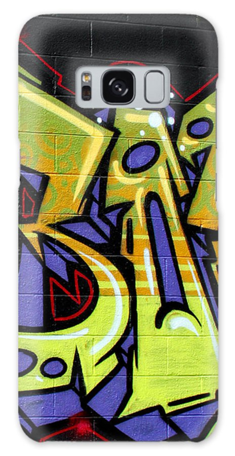 Graffiti Galaxy S8 Case featuring the photograph Graffiti 22 by Tera Bunney