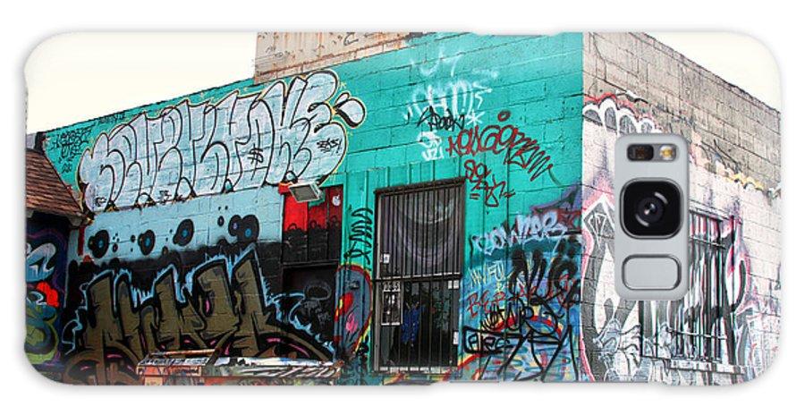 Graffiti Galaxy S8 Case featuring the photograph Graffiti 7 by Tera Bunney