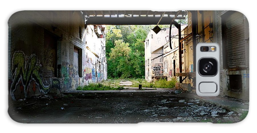 Graffitti Graffiti Galaxy S8 Case featuring the photograph Graffiti Alley 1 by Jacqueline Athmann