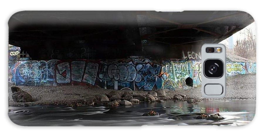 Graffiti Galaxy S8 Case featuring the photograph Graffiti by Mason Jones