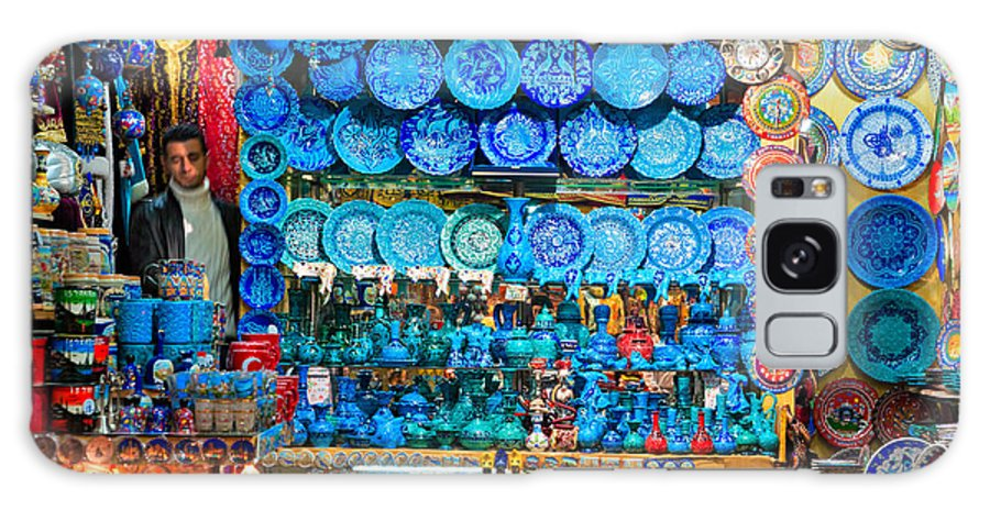 Rtisan Galaxy S8 Case featuring the photograph Grand Bazaar - Istanbul by Luciano Mortula