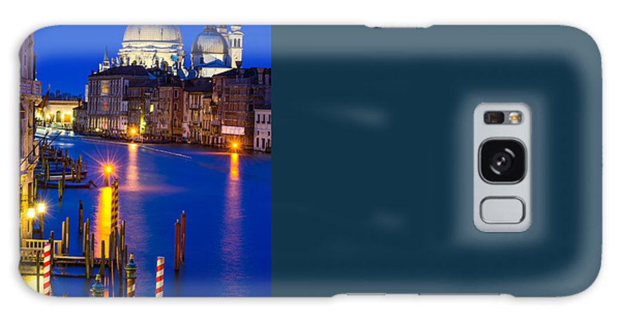 Adriatic Galaxy S8 Case featuring the photograph Grand Canal Of Venice Dusk by Emi Cristea