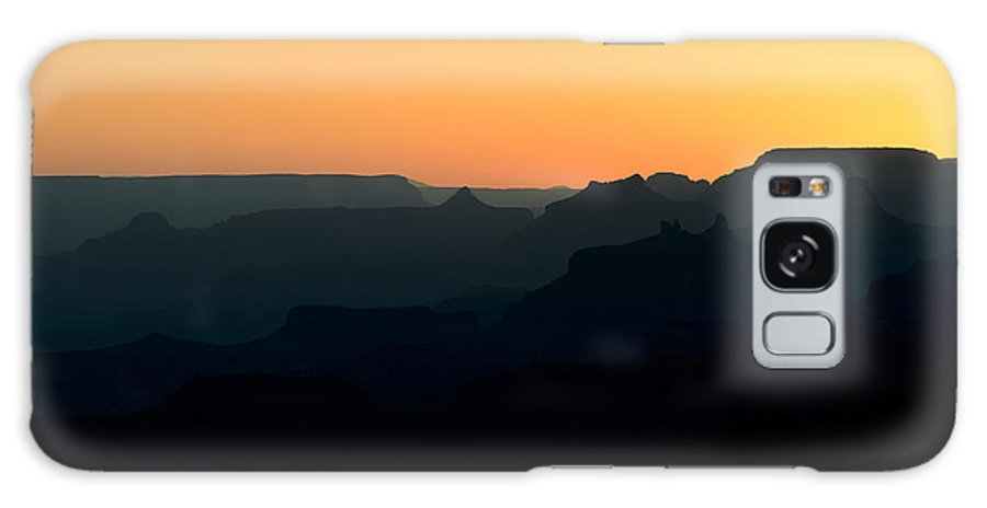 Grand Canyon Galaxy S8 Case featuring the photograph Grand Canyon Sunset by Robert Warrington