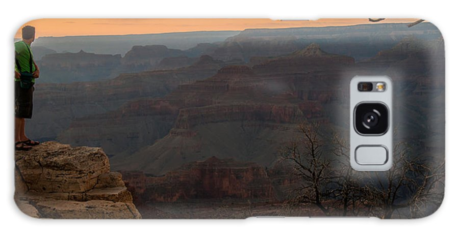 Canyon Galaxy S8 Case featuring the photograph Grand Canyon Sunset Wim by Gene Sherrill