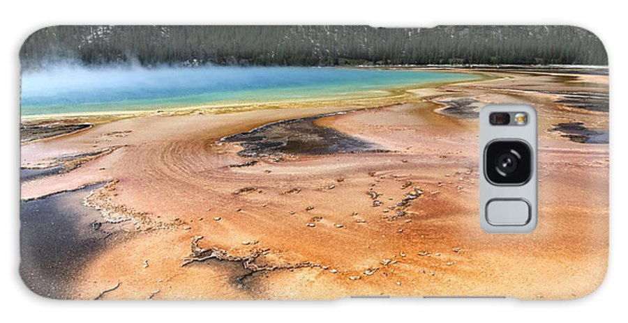 Grand Prismatic Galaxy S8 Case featuring the photograph Grand Prismatic Geyser by Sophie Vigneault