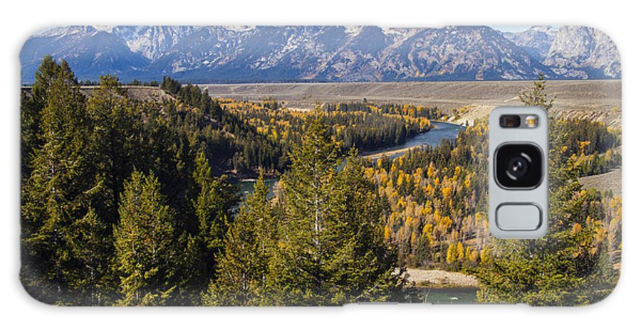 Grand Teton National Park Galaxy S8 Case featuring the photograph Grand Tetons by Bob Phillips