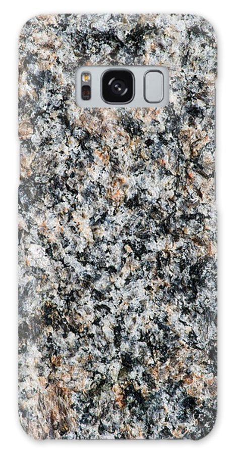 Abstract Galaxy S8 Case featuring the photograph Granite Power - Featured 2 by Alexander Senin