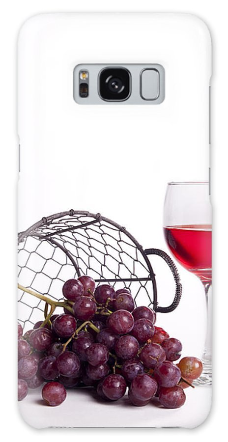 Grapes Galaxy S8 Case featuring the photograph Grape Juice by Michael Dorn