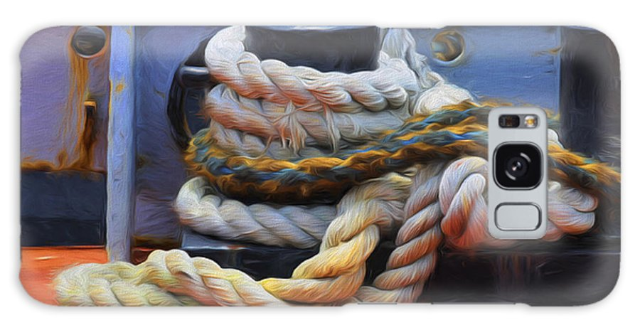 White Galaxy S8 Case featuring the photograph Grasping At Ropes by Jody Lovejoy