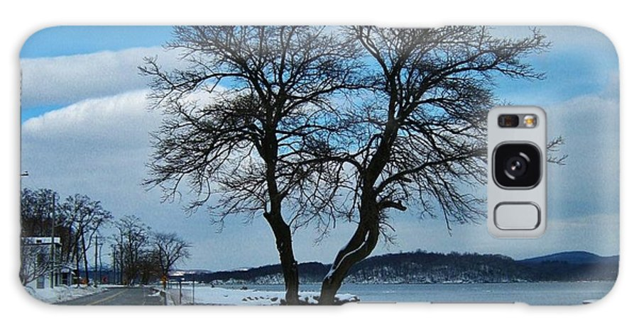 Hudson Valley Landscapes Galaxy S8 Case featuring the photograph Grassy Point Winter by Thomas McGuire