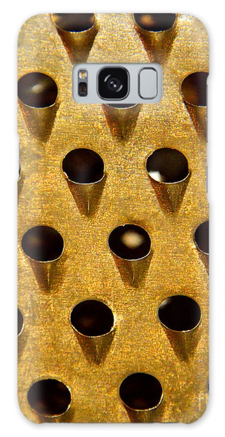 Abstract Galaxy S8 Case featuring the photograph Grating On My Nerves by Lauren Leigh Hunter Fine Art Photography