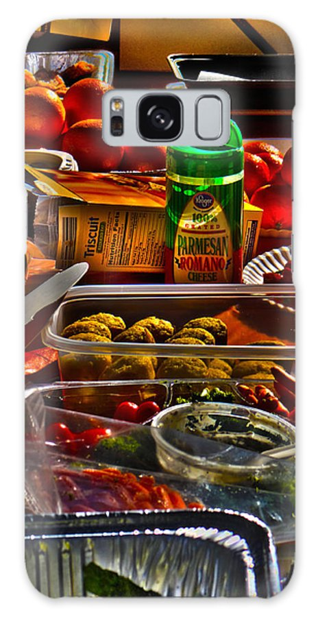 Food Galaxy S8 Case featuring the photograph Grazing Table 2 by Richard J Cassato
