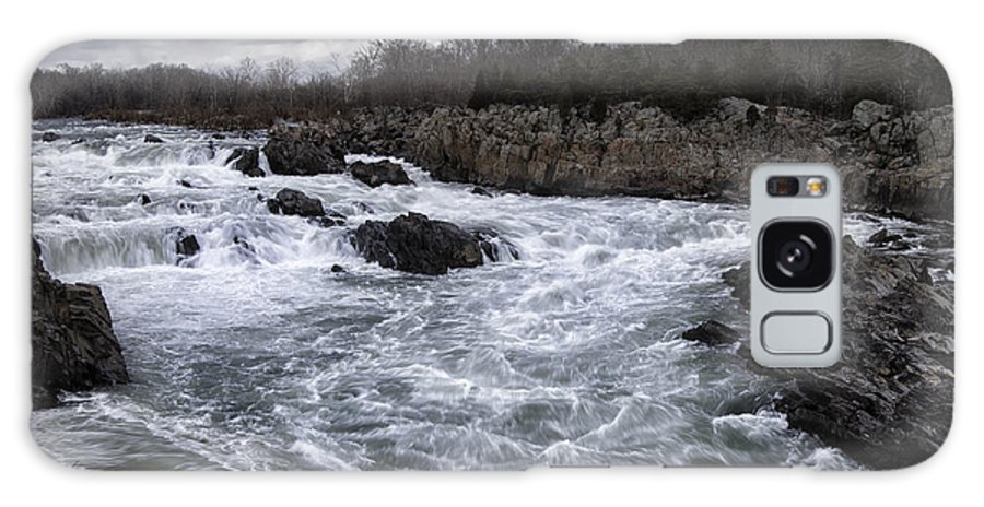Great Galaxy S8 Case featuring the photograph Great Falls by Joan Carroll