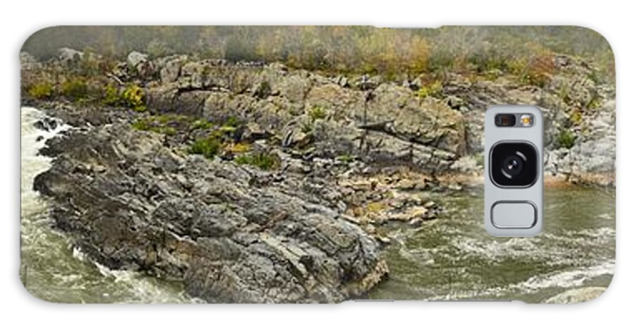 Landscape Galaxy S8 Case featuring the photograph Great Falls Panorama by Terry Everson