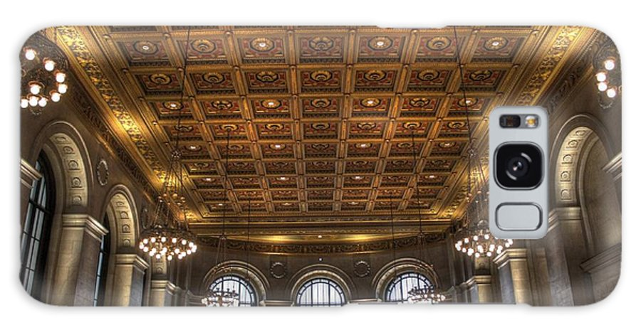 Library Galaxy S8 Case featuring the photograph Great Hall St. Louis Central Library by Jane Linders