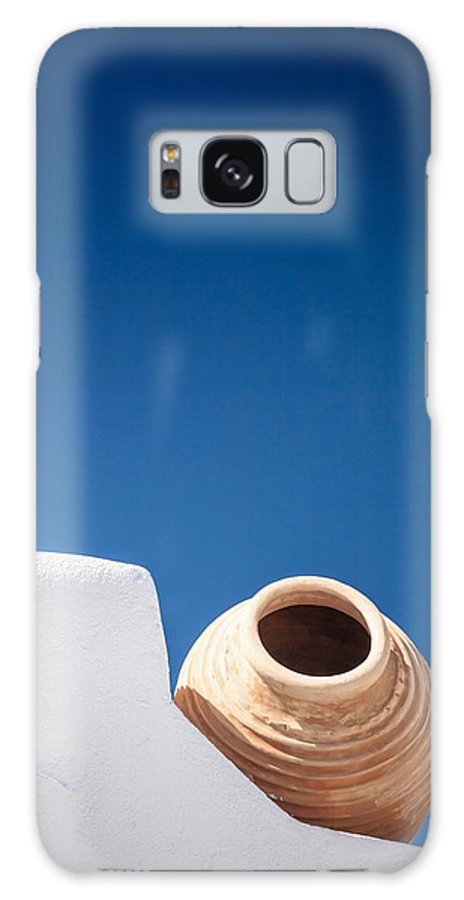 Amphora Galaxy S8 Case featuring the photograph Greek Amphora by Bjoern Kindler