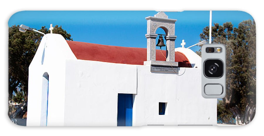 Chapel Galaxy S8 Case featuring the photograph Greek Chapel by Frank Gaertner