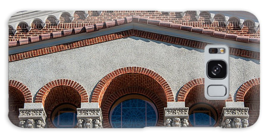 Church Galaxy S8 Case featuring the photograph Greek Orthodox Church Arches by Gary Whitton