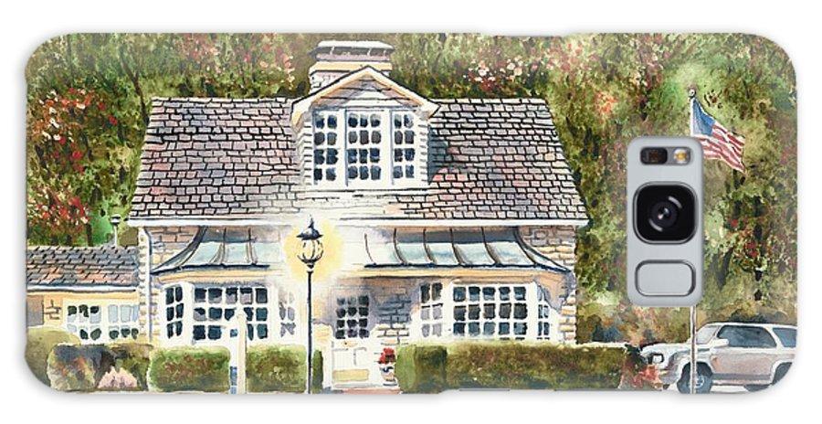 Greystone Inn Ii Galaxy Case featuring the painting Greystone Inn II by Kip DeVore