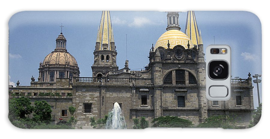 Mexico Galaxy S8 Case featuring the photograph Guadalajara Cathedral Mexico by John Mitchell