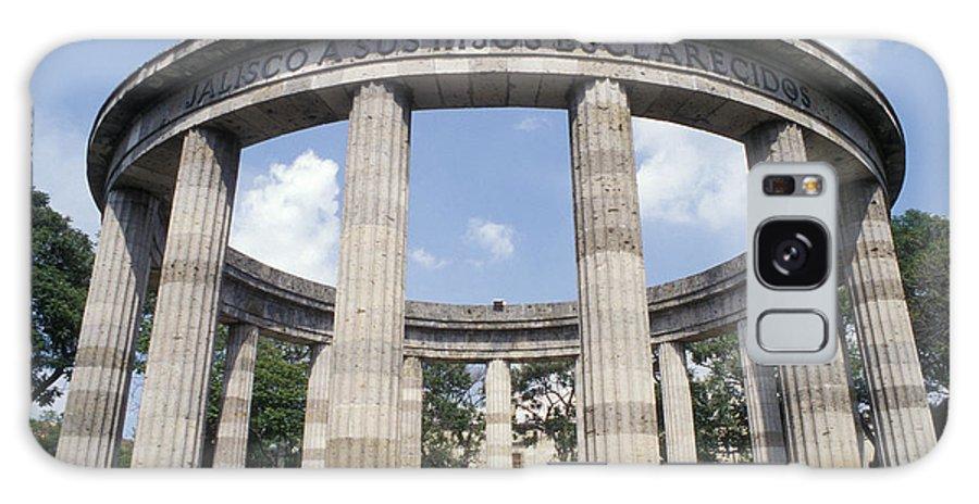 Mexico Galaxy S8 Case featuring the photograph Guadalajara Rotunda Mexico by John Mitchell