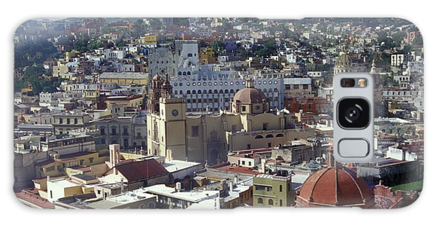 Mexico Galaxy S8 Case featuring the photograph Guanajuato Skyline Mexico by John Mitchell