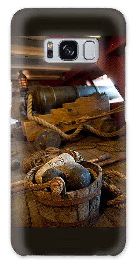 Nautical Galaxy S8 Case featuring the photograph Gunnery Port by Clifford Beck