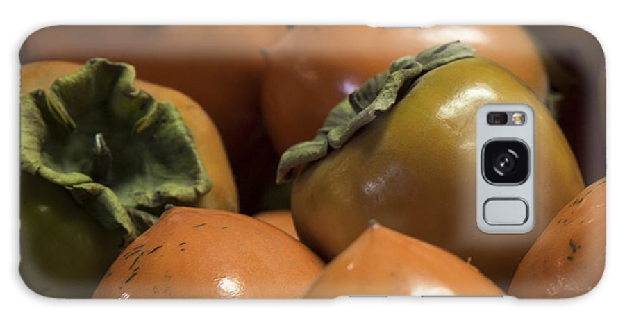 Persimmons Galaxy S8 Case featuring the photograph Hachiya Persimmons by Caitlyn Grasso