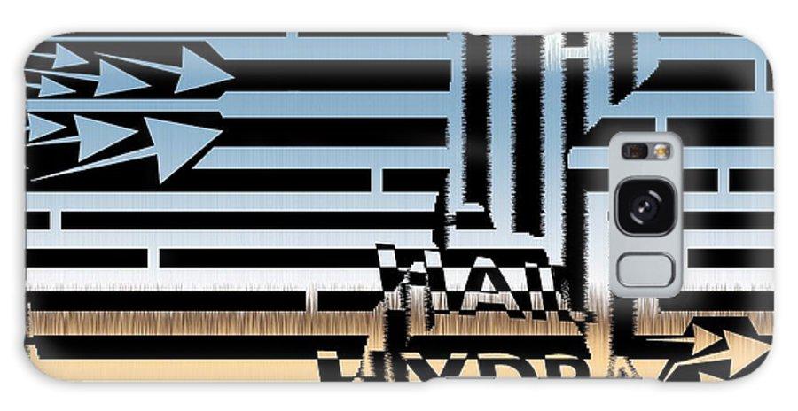 Maze Galaxy S8 Case featuring the digital art Hail Hydra Maze Meme by Yanito Freminoshi