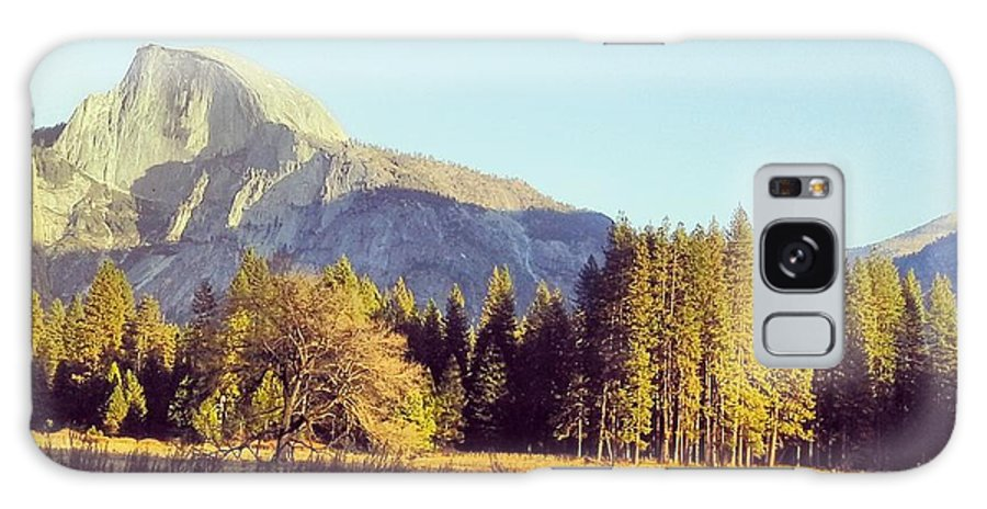 Yosemite Galaxy S8 Case featuring the photograph Half Dome by Samantha Thiemer