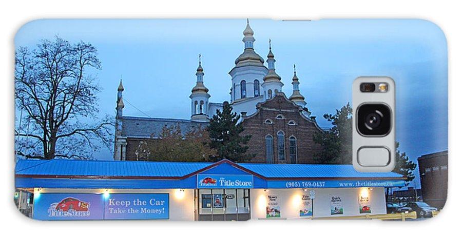 Hamilton Galaxy S8 Case featuring the photograph Hamilton Orthodox Church by Munir Alawi