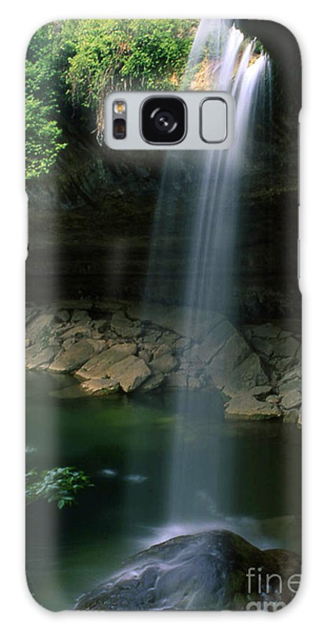 Nobi Nagase Photography Photograph Hamilton Pool Preserve Texas Hill Country Nature Waterfall Travis County Austin Galaxy S8 Case featuring the photograph Hamilton Pool Nature Preserve by Nobi Nagase